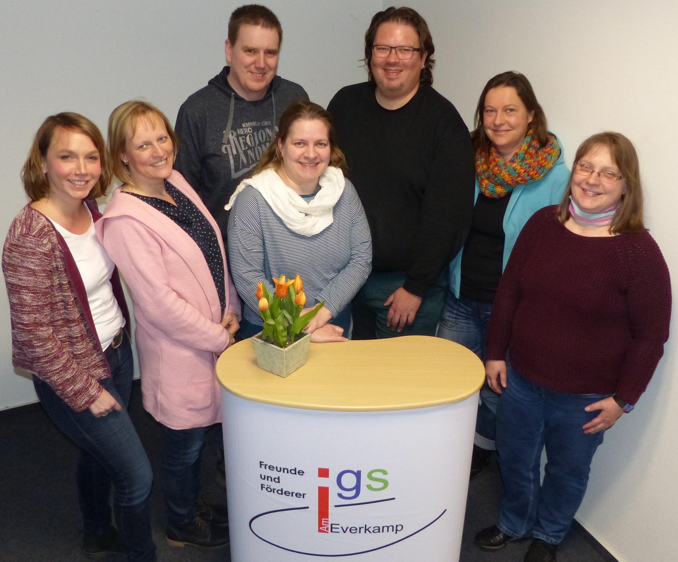 Förderverein mit neuem Vorstand – IGS Am Everkamp