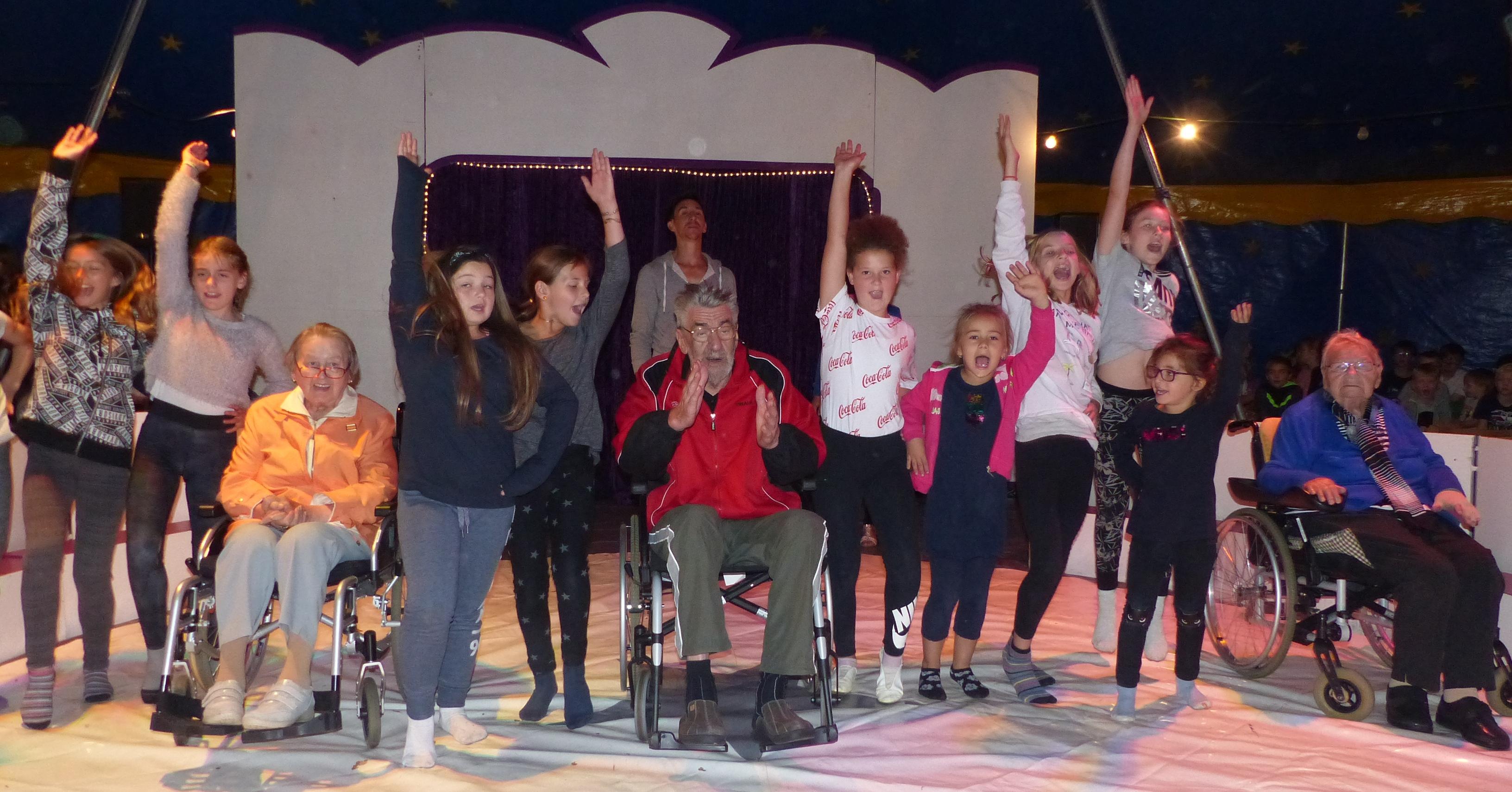 Generationen machen Zirkus